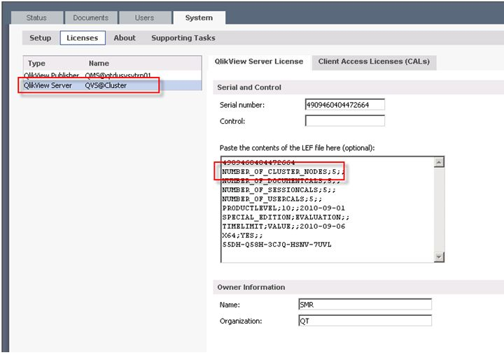 How to setup QlikView Server Cluster - Public Knowledge Base